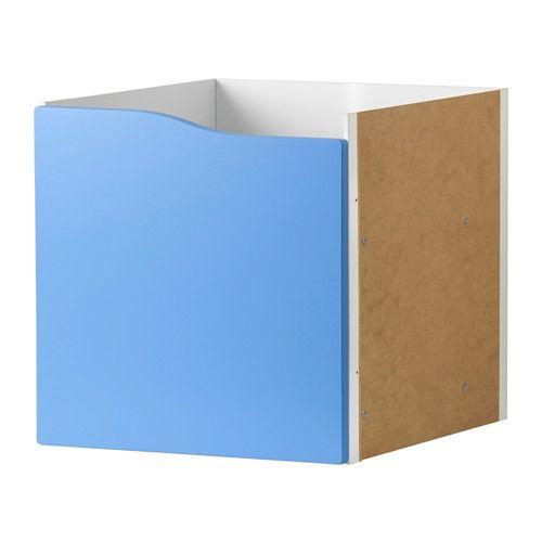 KALLAX Einsatz mit Tür IKEA Einfach zu montieren.