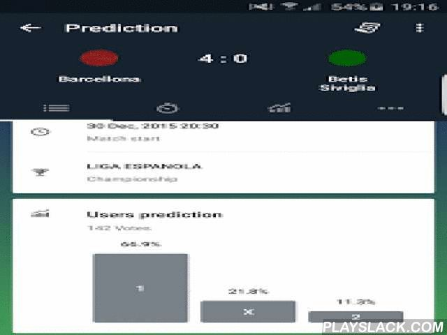 Predictions Online  Android App - playslack.com ,  Prediction Online is the App that will suggest daily soccer predictions to bet on Serie A, Champions League and all international competitions.ALL LEAGUES AND TEAMSWin your bets with football leagues around the world. With online betting, you will have access to direct bets from all competitions and international teams.COMMENT The PREDICTIONS: ANYWHERE, ANYTIMEUse the chat to comment on the games with friends, 24 hours on 24, 7 days a week…