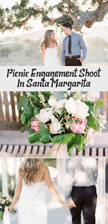 Picnic Engagement Shoot In Santa Margarita