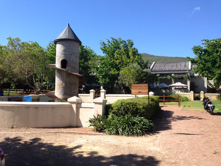 The goats tower at fairview cheese and wine farm outside of Paarl in the Western-Cape , South Africa