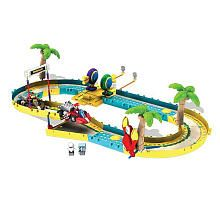 KNEX Wii Mario Kart Building Set  Mario and Donkey Kong Beach Race