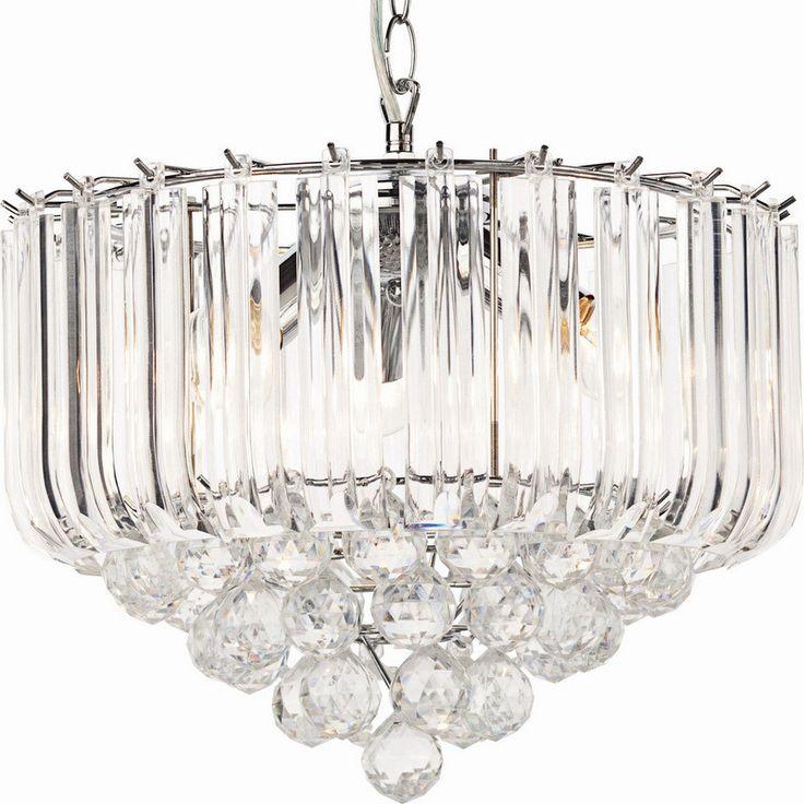 Kristallener Lüster Deckenfluter Empire #lüster #deckenfluter #acryl  #kristalle Https://