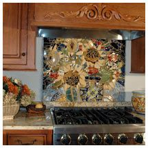 Kitchen Mosaic Backsplash Ideas 122 best mosaic countertops diy images on pinterest | backsplash