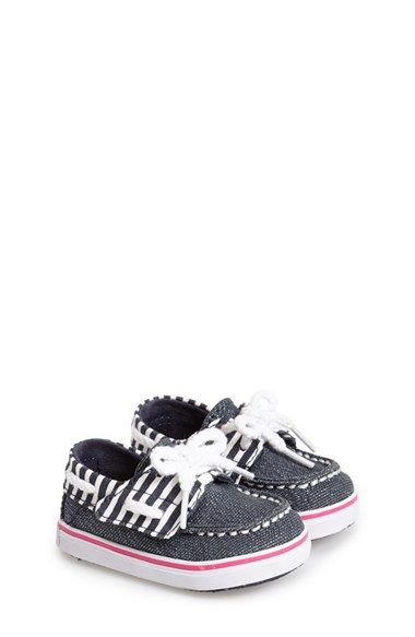 Sperry+Kids+'Bahama'+Crib+Shoe+(Baby)+available+at+#Nordstrom
