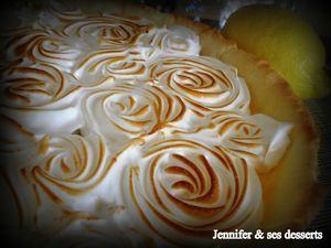 tarte aux citrons meringuee