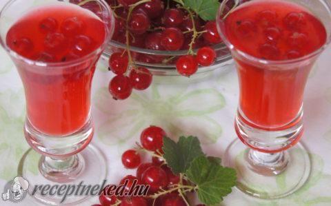 Fűszeres ribizli likőr recept fotóval