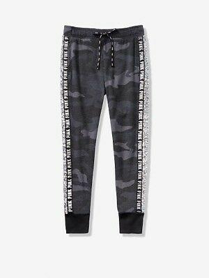 New Victoria's Secret PINK Classic SEQUINS Bling Pants Sweatpants Sweat Pants XS