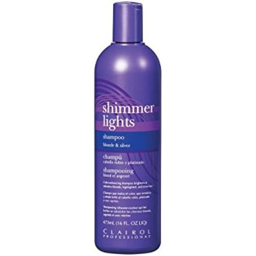 Best Cheap Purple Shampoo: Clairol Professional Shimmer Lights Shampoo Blonde & Silver