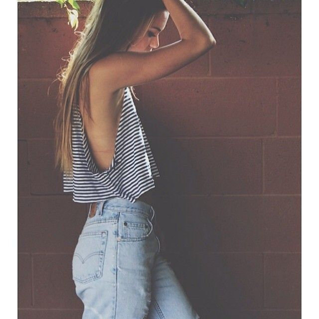 A little arm pit and side rib action. Brandy Melville USA