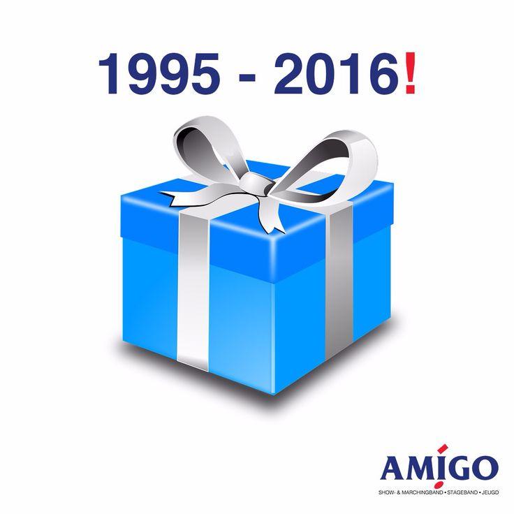 AMIGO Leiden is vandaag 21 jaar! | #korpsmuziek #trots | @Leidenopdekaart @prmanagerscvk @Ballisticbrass |