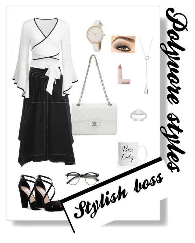 """""""Polyvore styles, stylish boss"""" by russell-mina on Polyvore featuring Nina, Chanel, Lipstick Queen and Avon"""