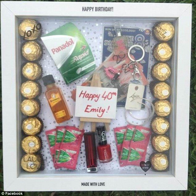 The Unusual Kmart Item Being Used By Gift Givers And It Only Costs 10 Shadow Box Gifts Diy Shadow Box Gift Box Birthday