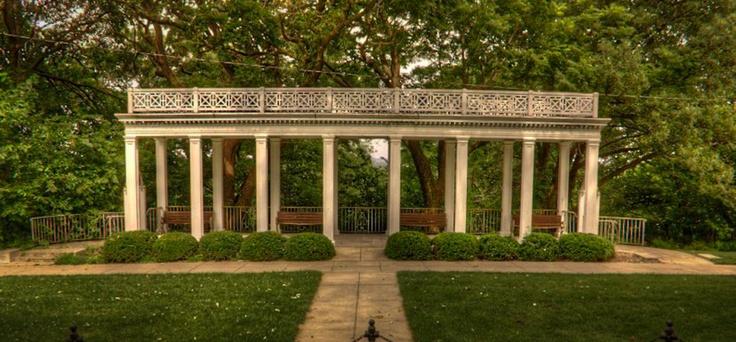 Wedding location - Mt Vernon Gardens in Omaha