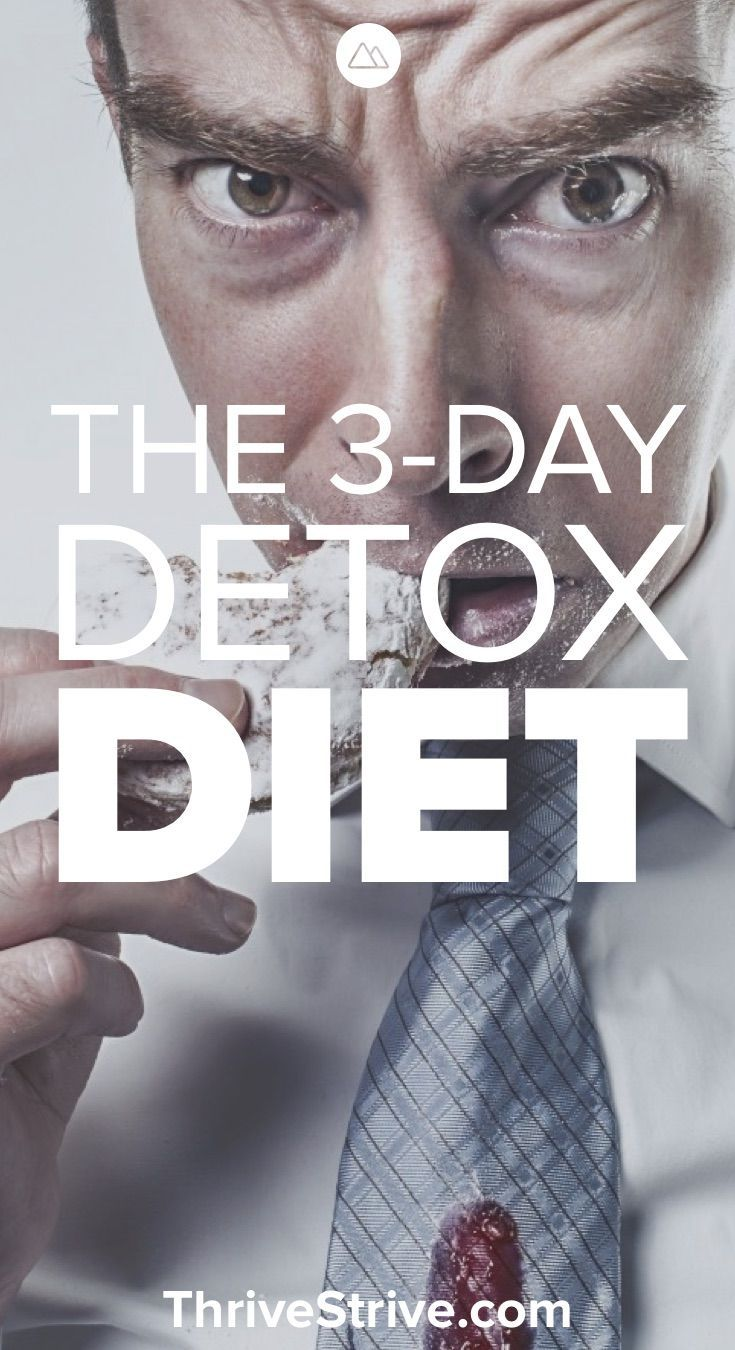 How To Do A Carb Detox: The 3day Detox Diet Plan Ways To Lose Weightlosing