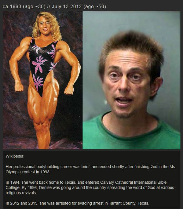 This Is What 20 Years Of Steroid Abuse Does To A Woman.