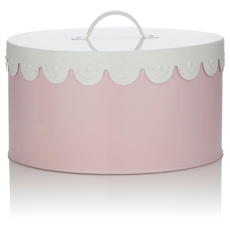 Asda Pink Cake Tin