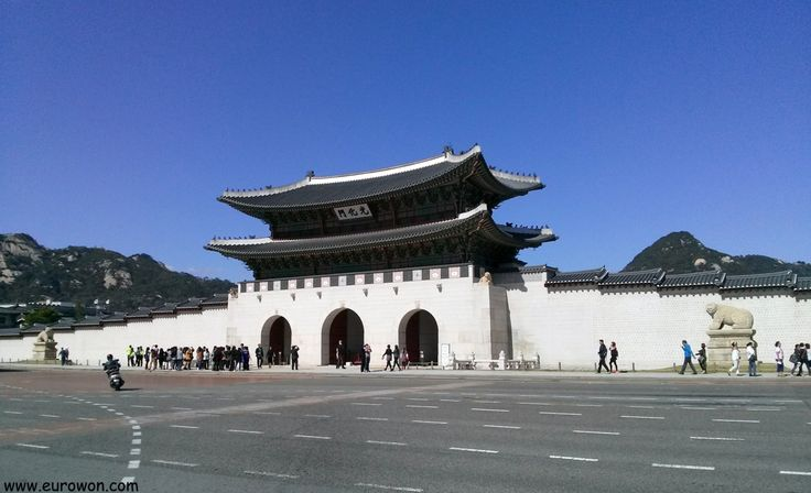 Vídeo de la plaza de Gwanghwamun, una de las principales atracciones turísticas de Seúl, capital de Corea del Sur.