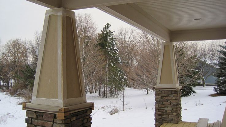 17 Best Images About Porch Columns And Railing On