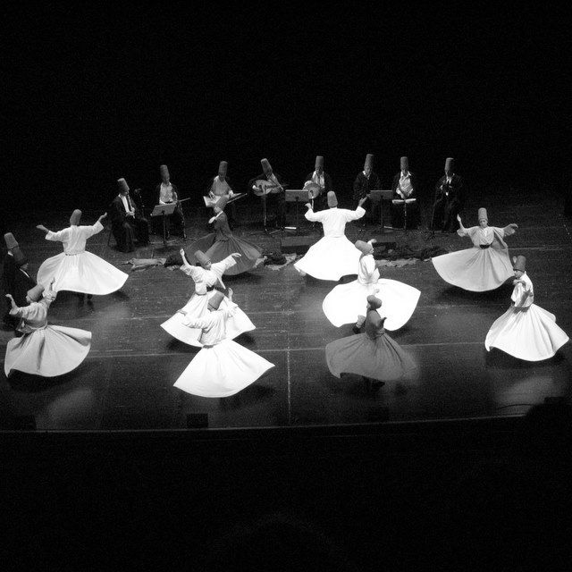 Whirling derwishes,Copyright © 2010 Amalia Raptopoulou (Greece), All rights reserved.