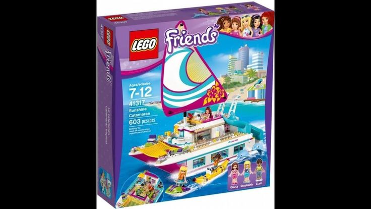 Katamaran LEGO friends  41317