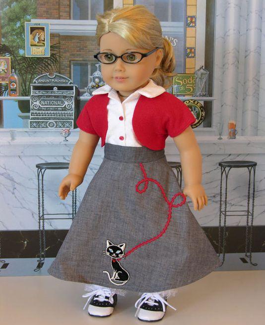 1950's costume for American Girl dolls