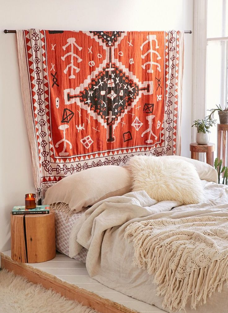 urban outfitters tapestry/head board                                                                                                                                                                                 More