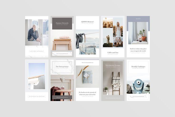 Vienna Instagram Stories Social Media Design Inspiration Instagram Story Instagram