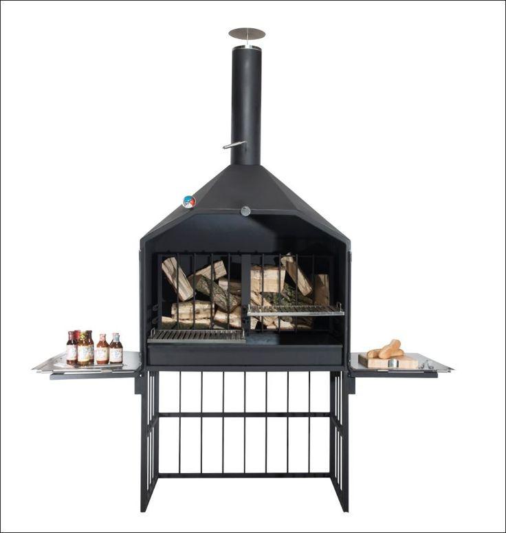 HTW Argentijnse King Grill 120 - Houtskool Barbecue's - BBQ Kinderkamer, kinderbed, terrashaard en barbecues