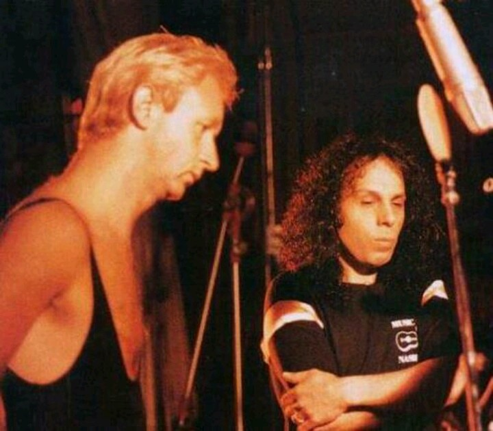 Rob Halford and Ronnie James DIO...................