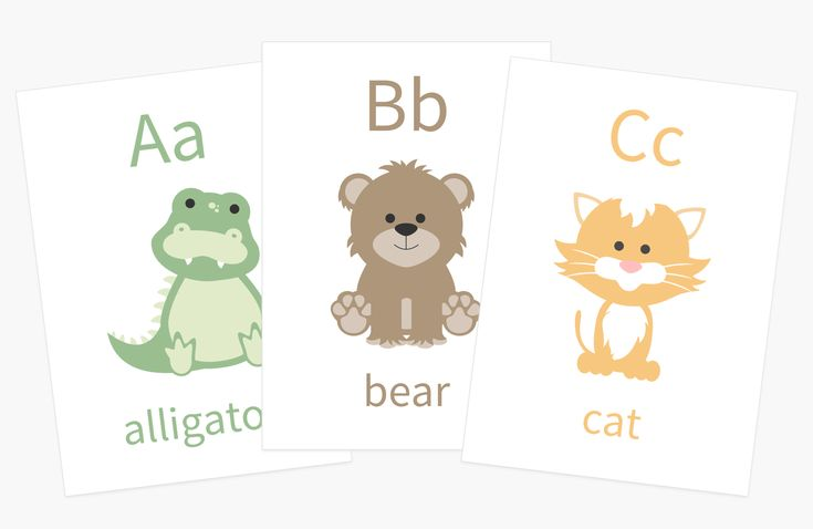 Alphabet flash cards perfect christmas gift best gift for
