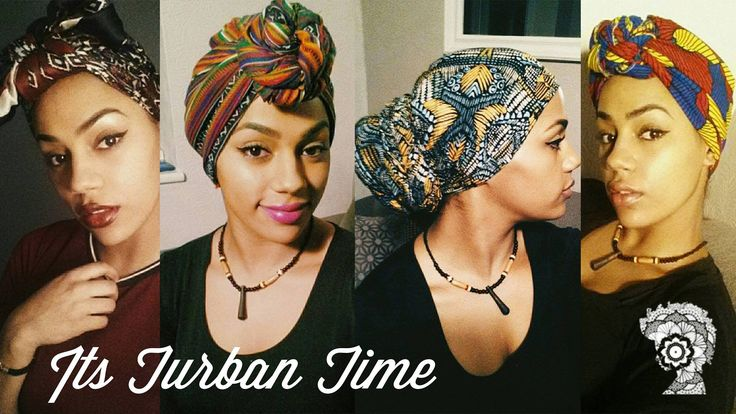 Head Wrap And Traditional Turban Tutorial  Read the article here - http://www.blackhairinformation.com/general-articles/hairstyles-general-articles/head-wrap-and-traditional-turban-tutorial/