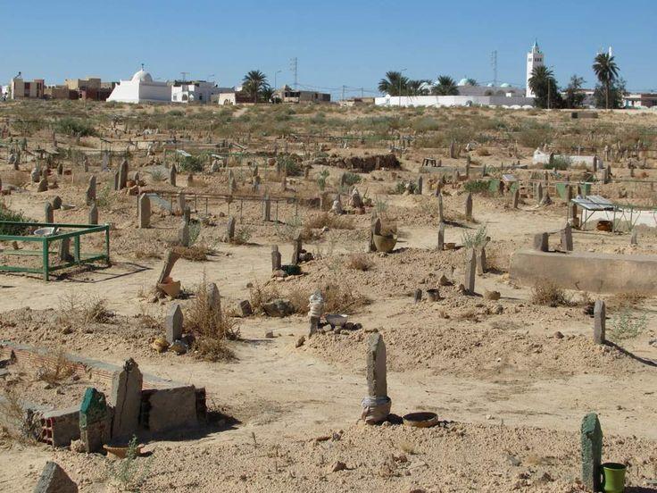 Douz in southern Tunisia has a sprawling Islamic cemetery.
