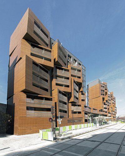 OFIS arhitekti | Basket Apartments in Paris http://nykyinen.com/ofis-arhitekti-basket-apartments-in-paris/#