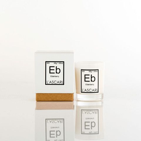 Elderberry. Shop now at The Candle Library. L'Ascari candles are handmade in Australia using 100% soy wax.