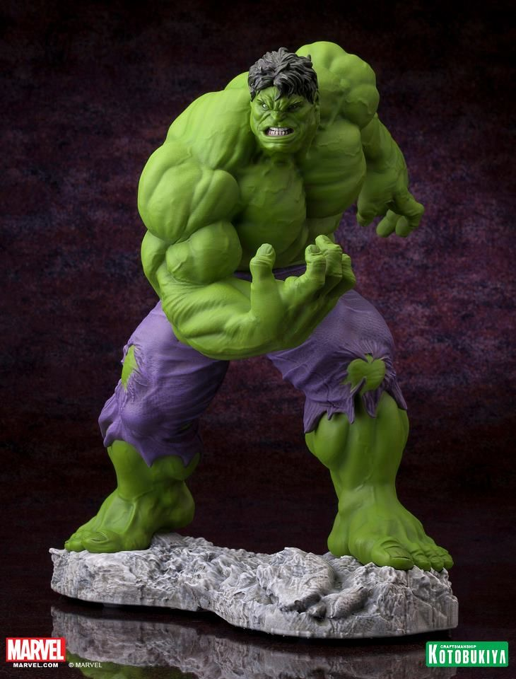 The Avengers Incredible Hulk Fine Art Statue PVC Figure statue Toys Kid