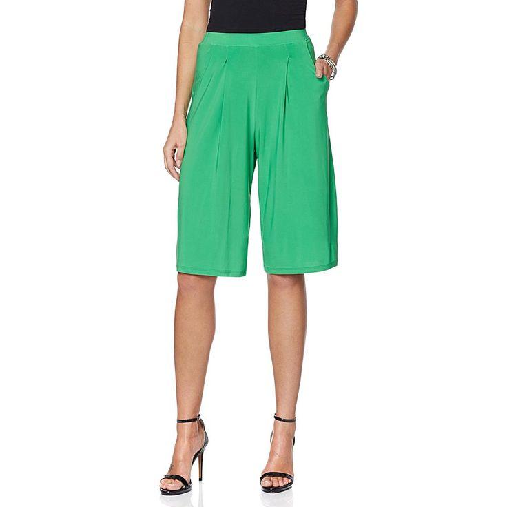 Slinky® Brand 2pk Walking Shorts with Pockets - Green/Royal