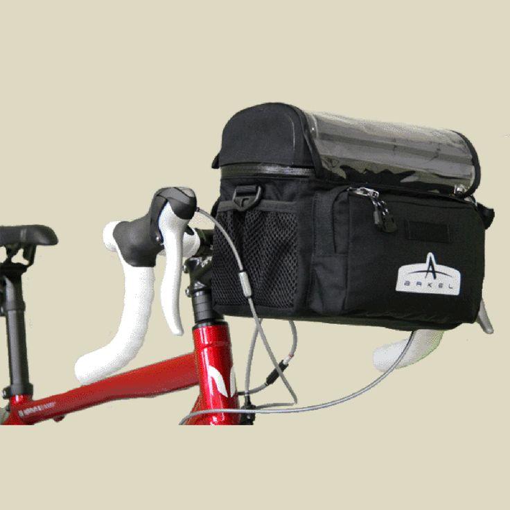 Arkel Waterproof Handlebar Bag Small Red