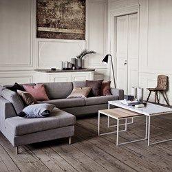Stilren hjørnesofa i god kvalitet og vakker design | Bolia