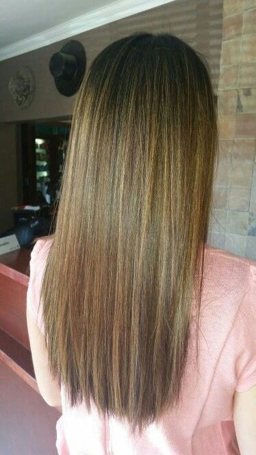 natural Ombre done by Chenene