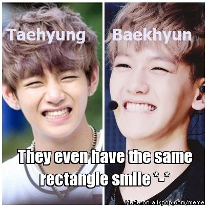 I dont think baekhyun and V look alike   allkpop Forums