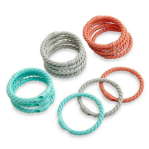 Plastic Magnetic Rope Shower Rings Are An Easy And Decorative Way
