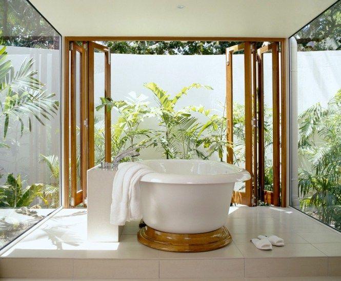 bathroom decor palm trees - Home Decore Inspiration