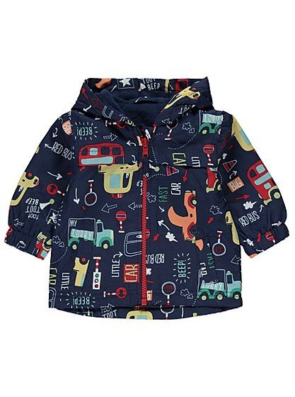 Lightweight Zipped Car Jacket, read reviews and buy online at George at ASDA. Shop from our latest range in Baby. Come rain or shine, this stylish zipped jac...