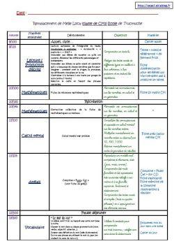 Rallye lien (le cahier journal) : Modèle Cahier Journal ZIL CM1