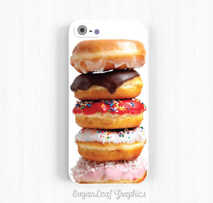 Donuts iPhone 6 Case, Assorted Donuts Samsung Galaxy s5 s4 s3, Note 3 Case, iPhone 6 Plus, 5s 5c 5 4s Case NP05 by theSugarloafBoutique on Etsy https://www.etsy.com/listing/180045851/donuts-iphone-6-case-assorted-donuts