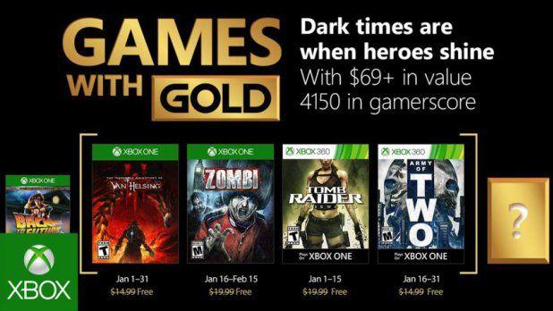 قائمة ألعاب Xbox Live Gold المجانية لشهر يناير 2018 Xbox Games Xbox 360 Games Xbox One