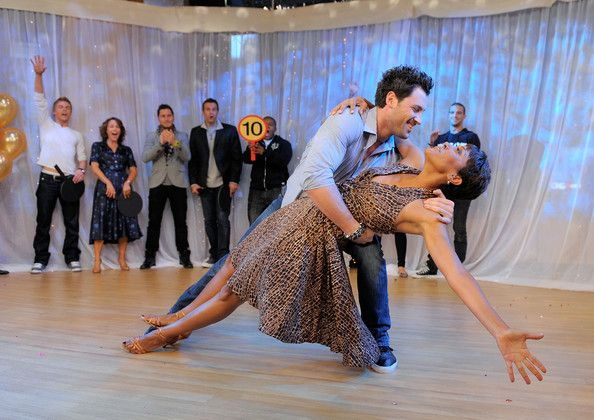 """Maksim Chmerkovskiy Photos: Cast Of """"Dancing With The Stars"""" Visits ABC's """"Good Morning America"""""""