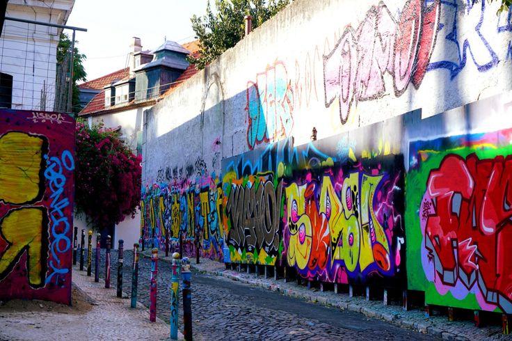 Bairro Alto neighborhood in Lisbon