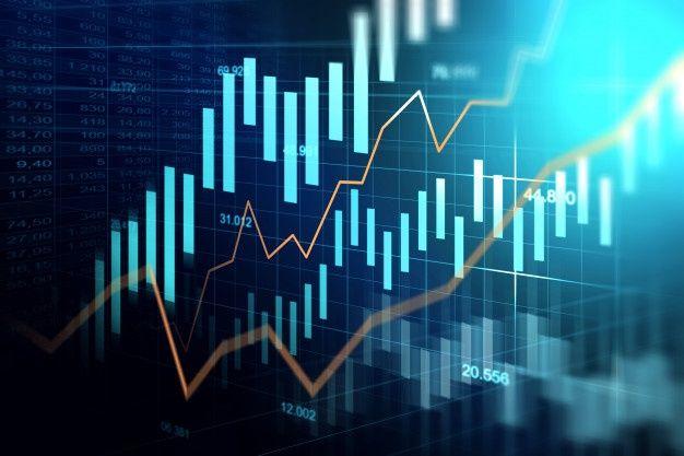 Mercado De Ações Ou Gráfico De Negociação Forex No Conceito Gráfico in 2020  | Stock market, Forex trading, Free bitcoin mining