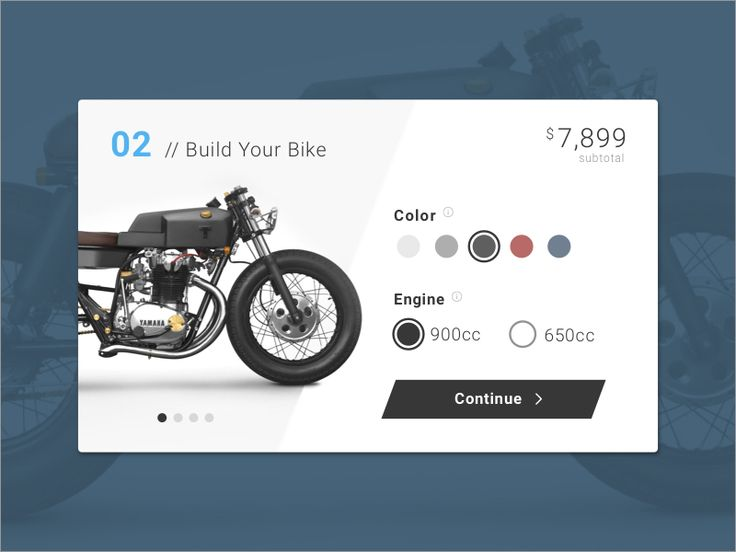 Customize Product — Design Inspiration — Muzli -Design Inspiration
